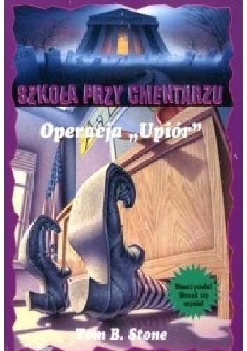 """Okładka książki Operacja """"Upiór"""""""