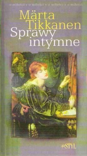 Okładka książki Sprawy intymne