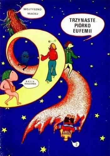 Okładka książki Trzynaste piórko Eufemii