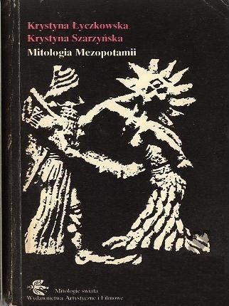 Okładka książki Mitologia Mezopotamii