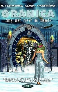 Okładka książki Granica. Zimą jest popyt na sieroty