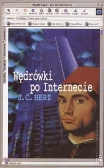 Okładka książki Wędrówki po Internecie