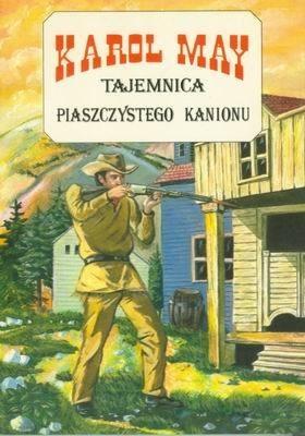 Okładka książki Tajemnica piaszczystego kanionu