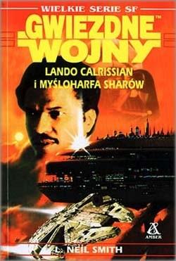 Okładka książki Lando Calrissian i Myśloharfa Sharów