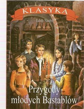 Okładka książki Przygody Młodych Bastablów