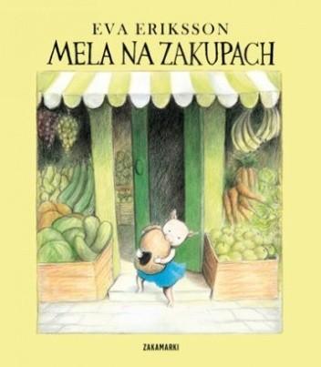 Okładka książki Mela na zakupach
