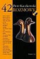 Okładka książki 42 Rozmowy