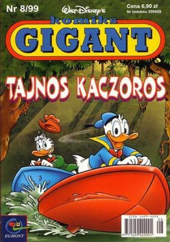 Okładka książki Gigant 8/99: Tajnos Kaczoros