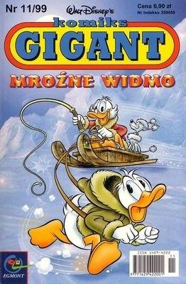 Okładka książki Gigant 11/99: Mroźne widmo