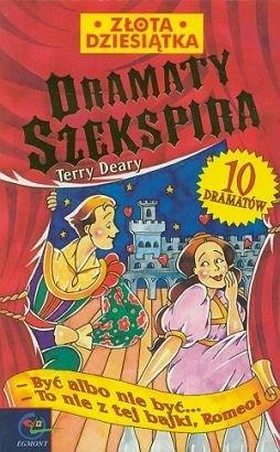 Okładka książki Dramaty Szekspira