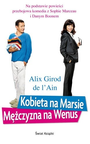 Okładka książki Kobieta na Marsie, mężczyzna na Wenus