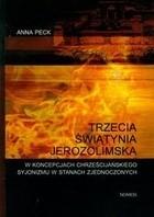 Okładka książki Trzecia świątynia jerozolimska
