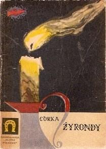 Okładka książki Córka Żyrondy