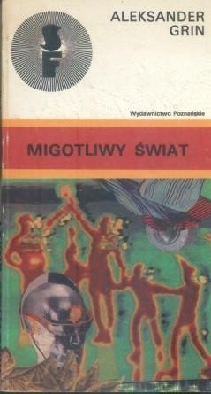 Okładka książki Migotliwy świat