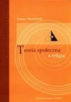 Okładka książki Teoria społeczna a religia