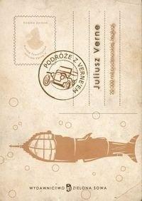 Okładka książki 20.000 mil podmorskiej  żeglugi. Tom 1