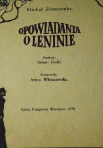 Okładka książki Opowiadania o Leninie