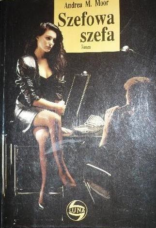 Okładka książki Szefowa szefa