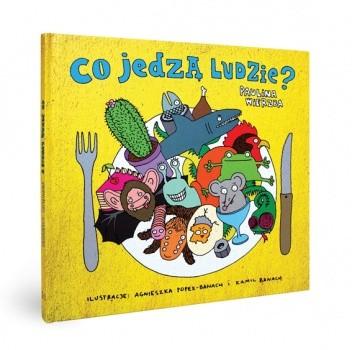Okładka książki Co jedzą ludzie?