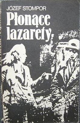 Okładka książki Płonące lazarety : powieść powstańcza