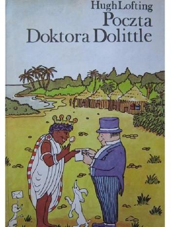 Okładka książki Poczta Doktora Dolittle