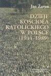 Okładka książki Dzieje Kościoła katolickiego w Polsce (1944-1989)