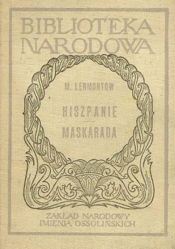 Okładka książki Hiszpanie. Maskarada