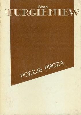 Okładka książki Poezje prozą