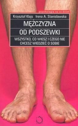 Okładka książki Mężczyzna od podszewki
