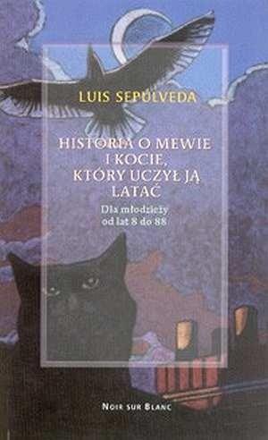 Okładka książki Historia o mewie i kocie, który uczył ją latać