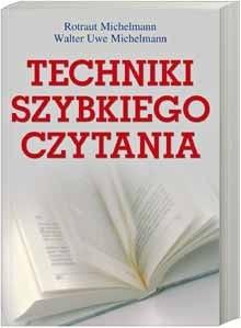 Okładka książki Techniki szybkiego czytania