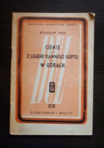 Okładka książki Cienie. Z legend dawnego Egiptu