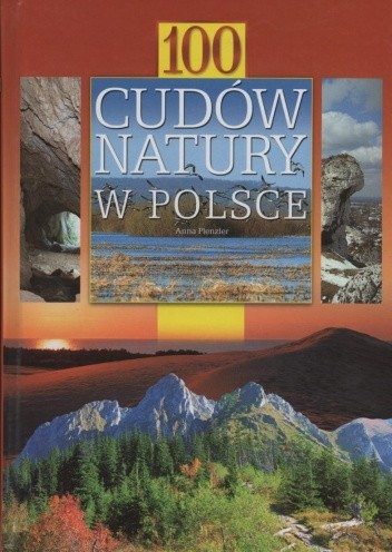 Okładka książki 100 cudów natury w Polsce