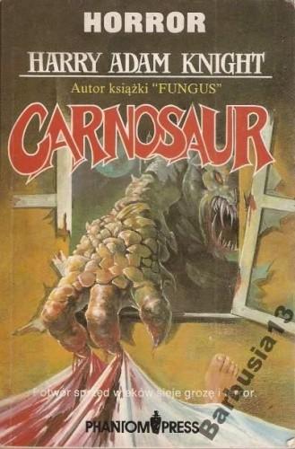Okładka książki Carnosaur
