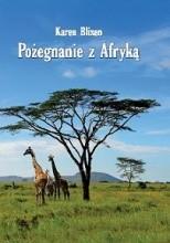 Okładka książki Pożegnanie z Afryką