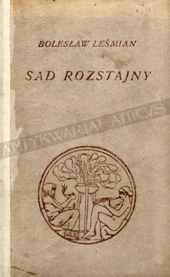 Okładka książki Sad rozstajny