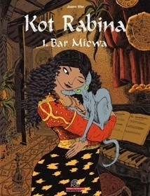 Okładka książki Kot Rabina. Tom 1: Bar Micwa