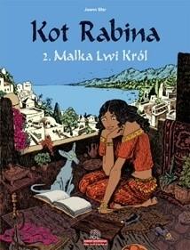 Okładka książki Kot Rabina. Tom 2: Malka Lwi Król
