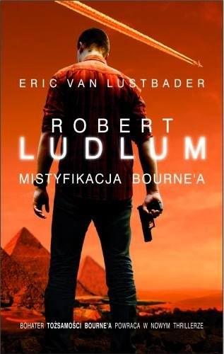 Okładka książki Mistyfikacja Bourne'a