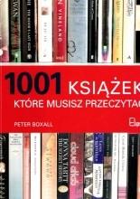 Okładka książki 1001 książek, które musisz przeczytać