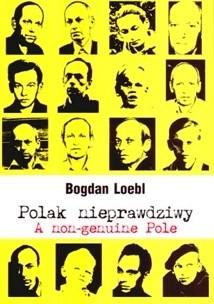 Okładka książki Polak nieprawdziwy