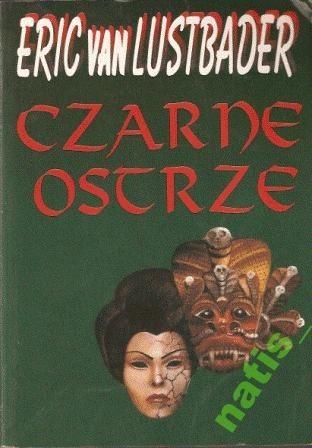 Okładka książki Czarne ostrze