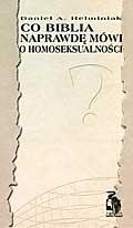 Okładka książki Co Biblia naprawdę mówi o homoseksualności