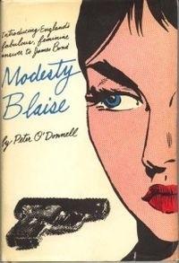 Okładka książki Modesty Blaise