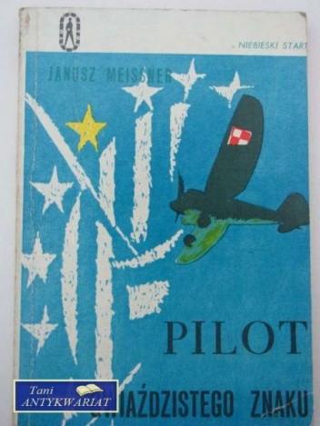 Okładka książki Pilot gwiaździstego znaku