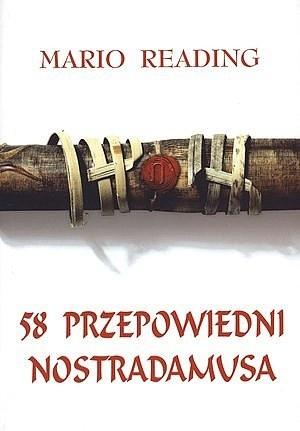 Okładka książki 58 Przepowiedni Nostradamusa