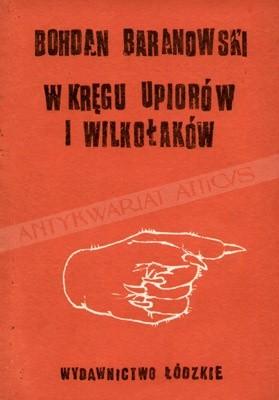 Okładka książki W kręgu upiorów i wilkołaków