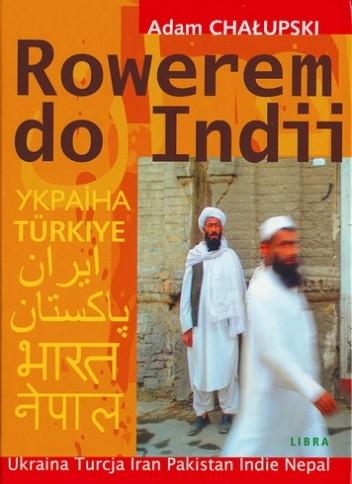 Okładka książki Rowerem do Indii