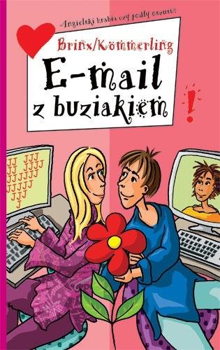 Okładka książki E- mail z buziakiem