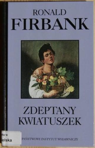 Okładka książki Zdeptany kwiatuszek